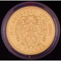 """Eventyrmønt, H.C. Andersen, 10 kr 2005 """"Den Lille Havfrue"""", Sieg 6, i original æske fra Den Kgl. Mønt"""