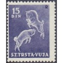 Triest. 1950. New value 15 d. MNH/postfrisk