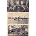 Tyskland. Hamburg Hafen und Docks, unused postcard