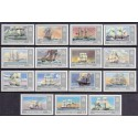 Ascension 1986 Ships complete set MNH