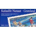 Grønland Jule/Christmas booklets no. 2 (1997) stemplet/used