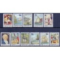 Norfolk Islands 1987-8 colonisation in complete set. MNH.