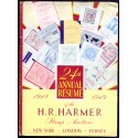 Auktionskatalog. The Resume fore the season 1945-1946 HARMERS Bond Street Stamp