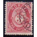 Norge 1872-75. 3 sk. AFA nr. 18 st.