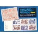 Sverige/Sweden. Complet Year set BOOKLETS 1983