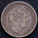 Frankrig-France. 5 Francs 1831 Louis-Philippe Ag.