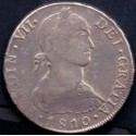 Mexico. SPANISH COLONY 8 Reales 1807. KM109 Ag.