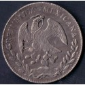 Mexico. 8 Reales, 1877. KM377. Ag.