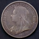 England-Great Britain. 1892 QUEEN VICTORIA JUBILEE CROWN, Ag,