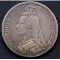 England-Great Britain. 1893 QUEEN VICTORIA KM783, Ag,