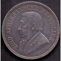 Sydafrika-South African. 2-1/2 Shillings 1897. KM7. Ag