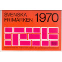 Sverige/Sweden. Complet Year set 1970