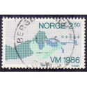 Norge 1986. 2,50 kr...