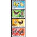 Korea. Butterfly/bugs in complete set. Michel 552-4 **/MNH