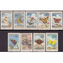 Ungarn. Butterfly/bugs in complete set. AFA 2149-57 **/MNH