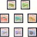Poland. Fish in complete set. AFA nr. 1636-44 **/MNH.
