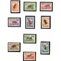 Rumania. Bugs in complete set. AFA nr. 2190-97 **/MNH.