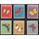 Nicaragua. Butterflyies in complete set. Michel 1434-45 **/MNH
