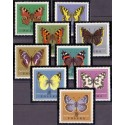 Albanien. 1963. Butterflyies in complete set. AFA nr. 787-92 **/MNH