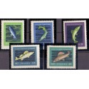 Albania. Fish in complete set. AFA nr. 818-23 **/MNH.