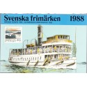 Sverige/Sweden. Complet Year set 1988