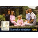 Sverige/Sweden. Complet Year set 1986