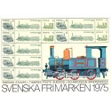 Sverige/Sweden. Complet Year set 1975