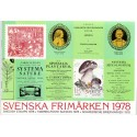 Sverige/Sweden. Complet Year set 1978