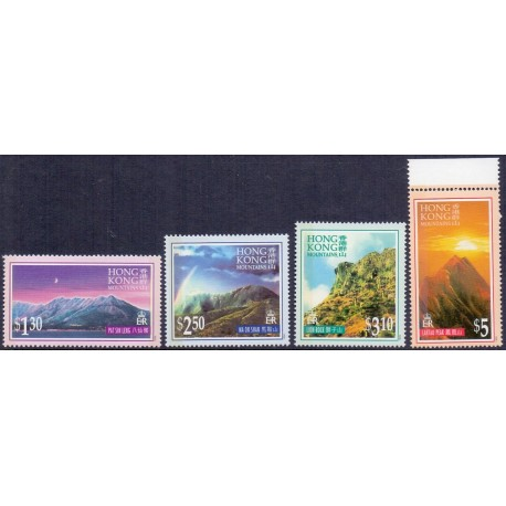 Hongkong 1996 Mountains, complete set **