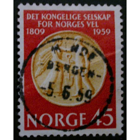 Norge/Norway 1959 Norges Vel, Luksus stemplet