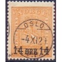 Norge/Norway 1929 Provisorier, Luksus stemplet