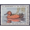 USA Duckstamp 7,5$ Scott: RW52**
