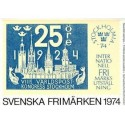 Sverige/Sweden. Complet Year set 1974