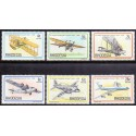 Rhodesia 1978 Aeroplanes, complete set, MNH
