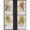 South Africa, Bophuthatswana, 1980 Birds in complete set, MNH