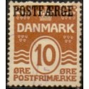 Danmark Postfærge 1927 AFA nr. 12a stemplet/used